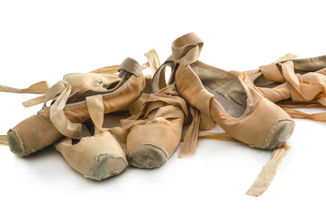 Used ballet shoes
