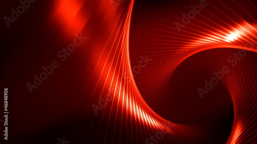 Red Abstract Video Background