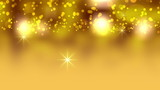 Christmas Yellow Abstract Video Background