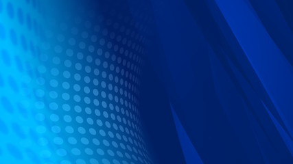Blue Abstract Video Background