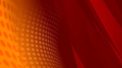 Orange Abstract Video Background