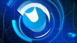 Technology Blue Abstract Video Background