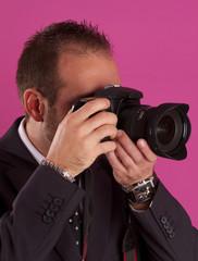 male photographer