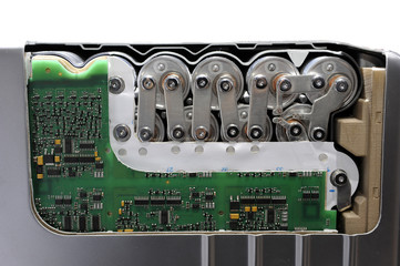 relais électrique de véhicule hybride