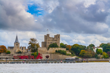 rochester castle and cathedral