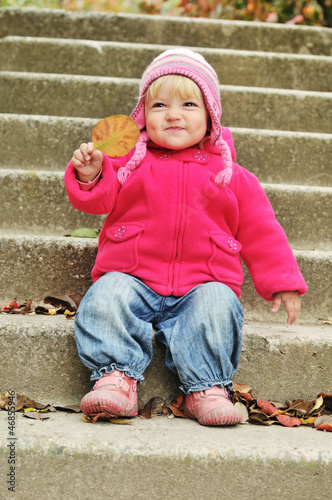 funny toddler girl