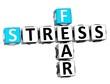 3D Fear Stress Crossword