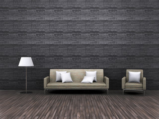 Living room - vintage environment