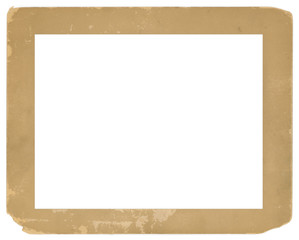 Vintage Photo Frame Old Grungy Texture Background