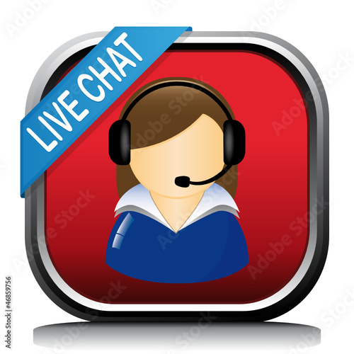 LIVE CHAT WOMAN ICON