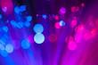 Festive lights and circles