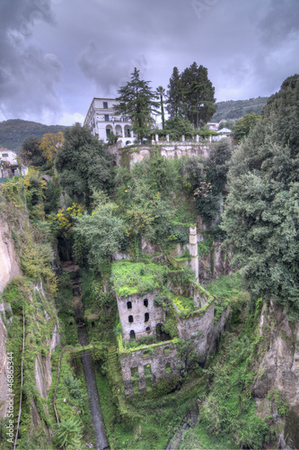 The Deep Valley of The Mills, Sorrento, Italy