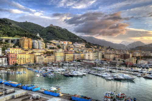 Leinwandbild Motiv Salerno, Italy.