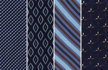 Blue Textile Swatches