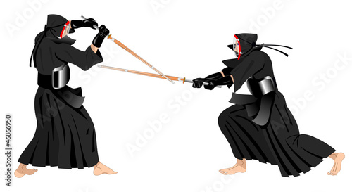 kendo warriors fighting