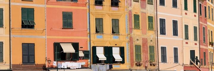 Portofino, case colorate