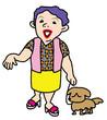 関西系のおばちゃん