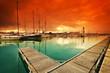 Fototapeta łódź - Katalonia - Przystań