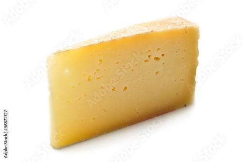 Staande foto Zuivelproducten fetta di formaggio stagionato