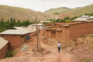Lehmhütten, Hissar Gebirge, Usbekistan