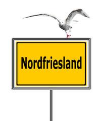Nordfriesland, Schild