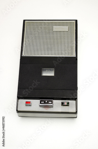 Portable compact cassette player recorder