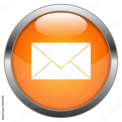 Vector Button Email