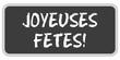 TF-Sticker eckig oc JOYEUSES FETES