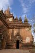 スラマニ寺院と青空