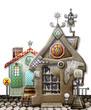 Toy farmhouse