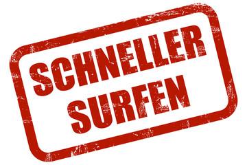 Grunge Stempel rot SCHNELLER SURFEN