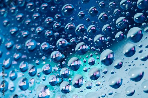 canvas print picture Wassertropfen 16