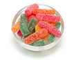 jelly candies in a bowl
