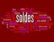 """Nuage de Tags """"SOLDES"""" (courses shopping prix offre spéciale)"""