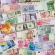 Geldscheine aus der ganzen Welt