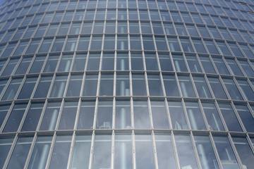 moderne Glasfassade Bürogebäude