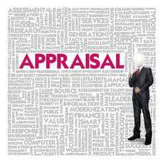 Business word cloud for business and finance concept, Appraisal