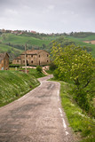 Italy Farmhouse and Local Road