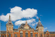 Facade of Amsterdam Central Station
