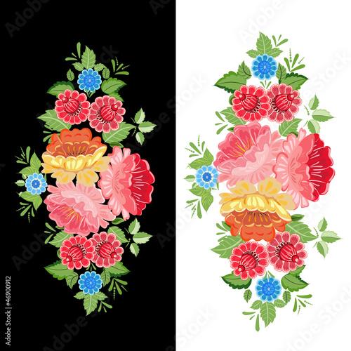kwiatowy-wzor-khokhloma