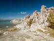 Formations salées - rivage du lac Mono Lake