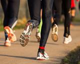 Fototapety Marathonläufer