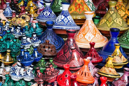 Foto op Aluminium Marokko Tajine