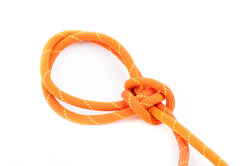 colorful rope with knots