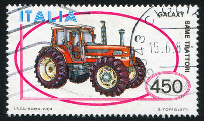 Galaxy same tractor