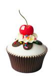 Fototapety Cherry cupcake
