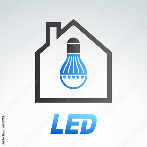 LED light bulb 5 (blue version)