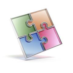 Color Jigsaw Puzzle.
