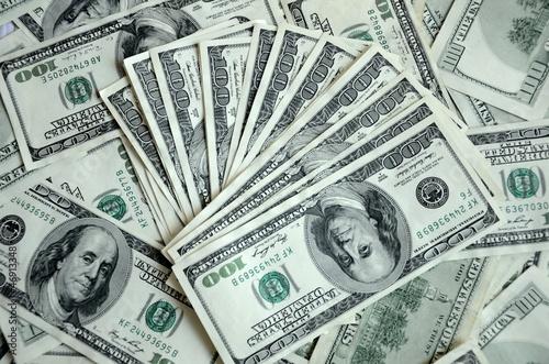 American dollars - mixed cash
