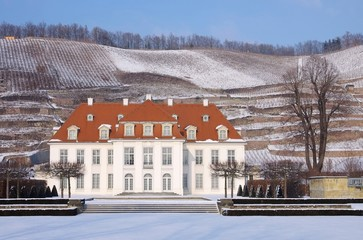 Radebeul Schloss Wackerbarth Winter 04